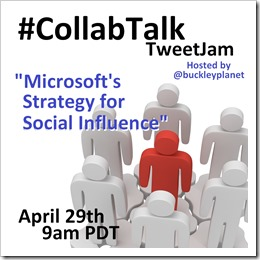 April 2014 CollabTalk TweetJam