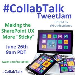 CollabTalk TweetJam June 2014