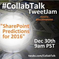 CollabTalk tweetjam Dec 2015