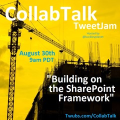 CollabTalk tweetjam Aug 2016