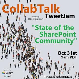 CollabTalk tweetjam Oct 2016