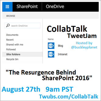 CollabTalk TweetJam Aug 27, 2015