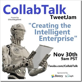 CollabTalk tweetjam Nov 2016