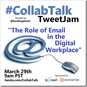 CollabTalk TweetJam Mar 2017